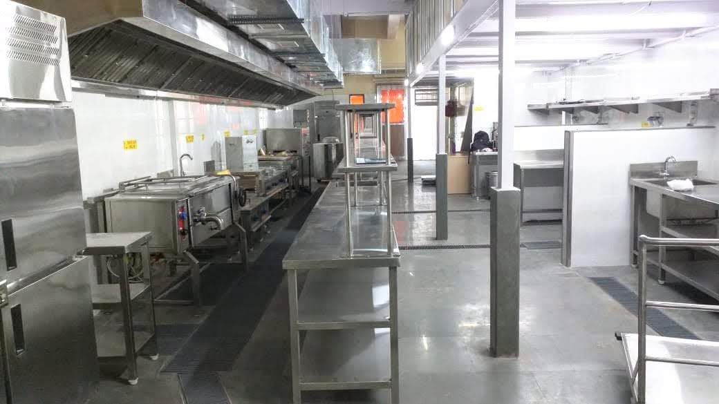 Fully Functional Central Production Kitchen Asset for Sale in Mumbai