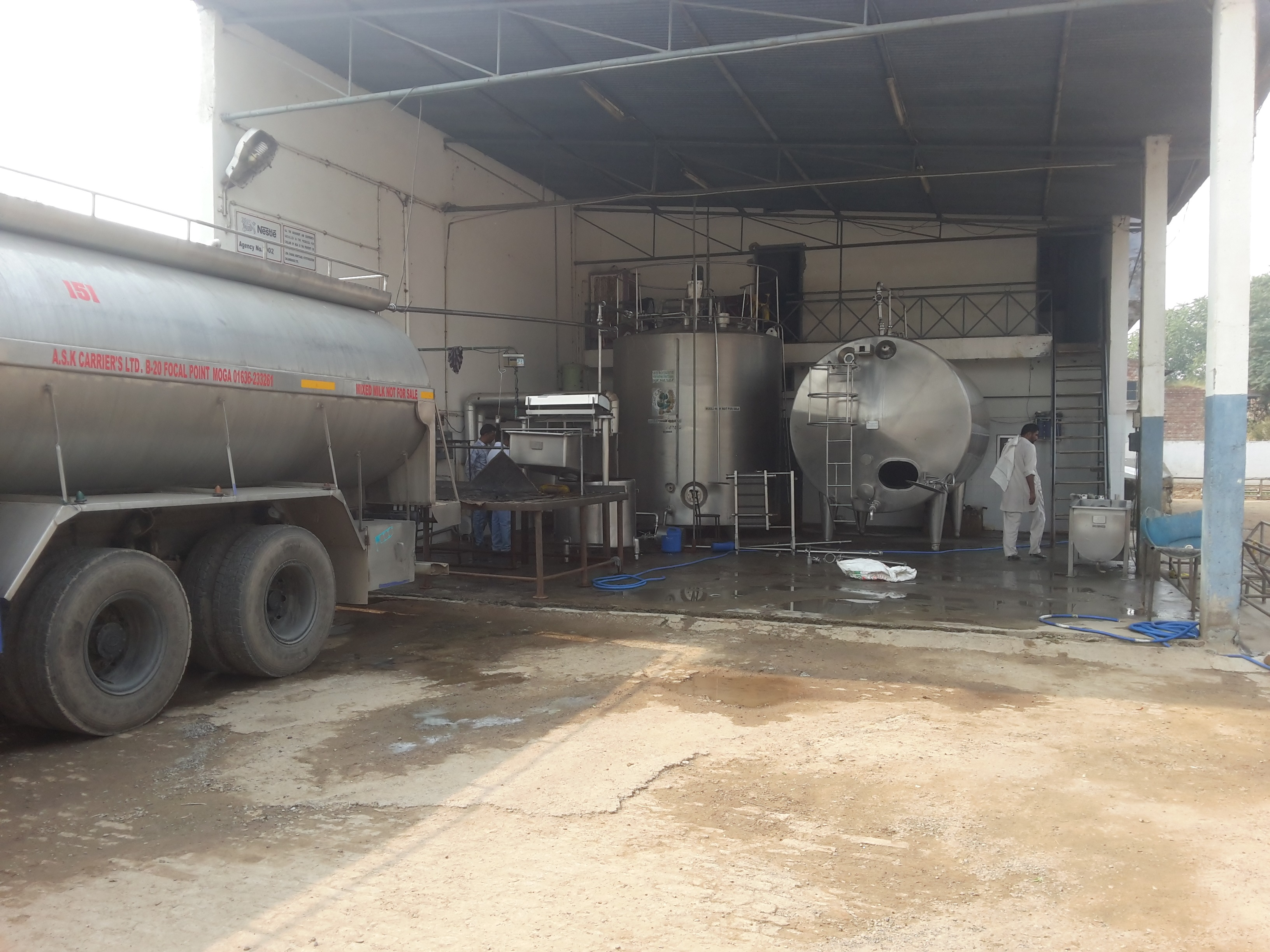 A Profitable Milk Chilling and Ice Block Manufacturing Factory for Sale