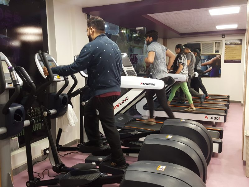 Running Luxurious Gym in East Delhi for Sale