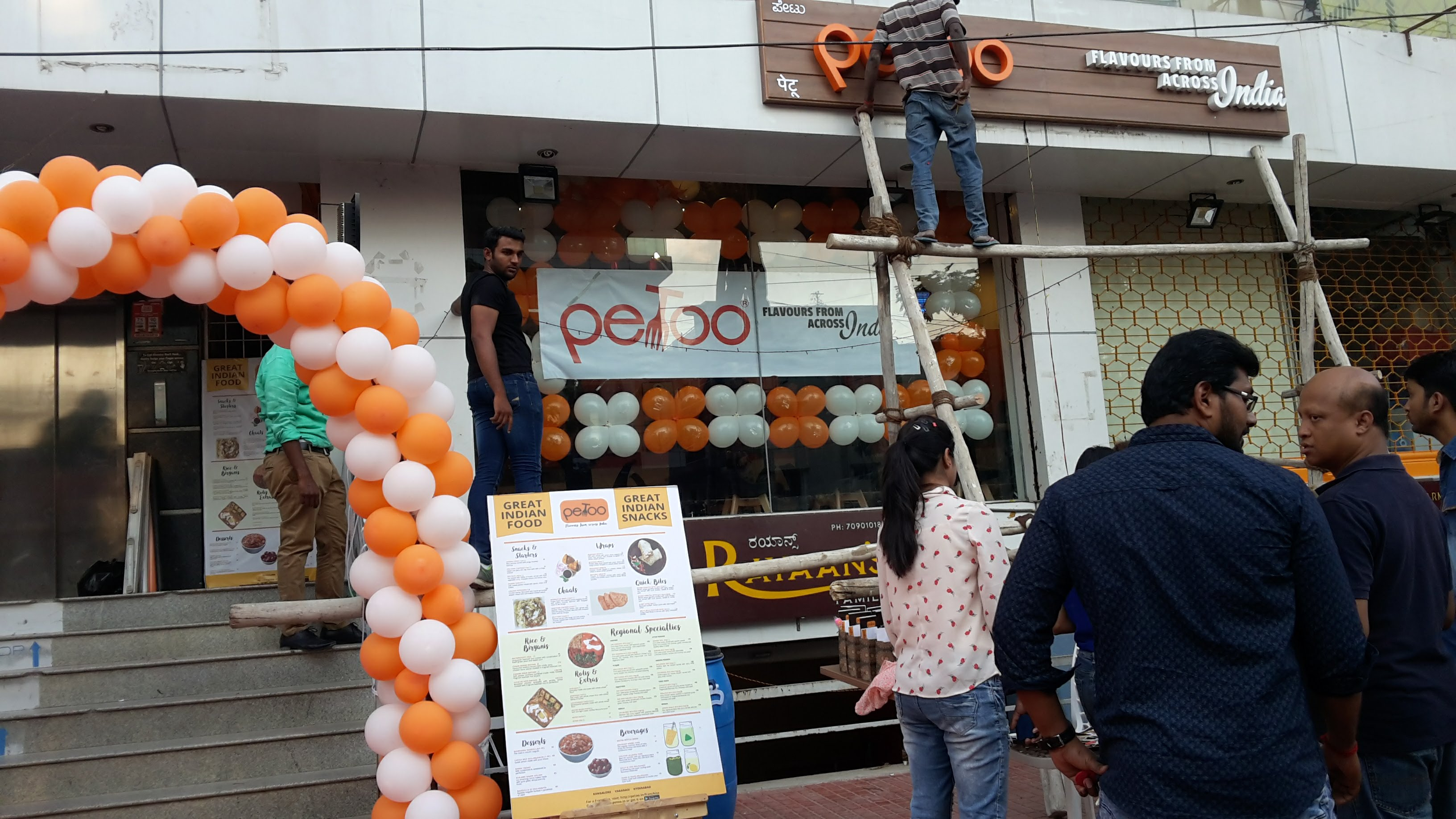 Petoo Franchise Restaurant for Sale in Bangalore