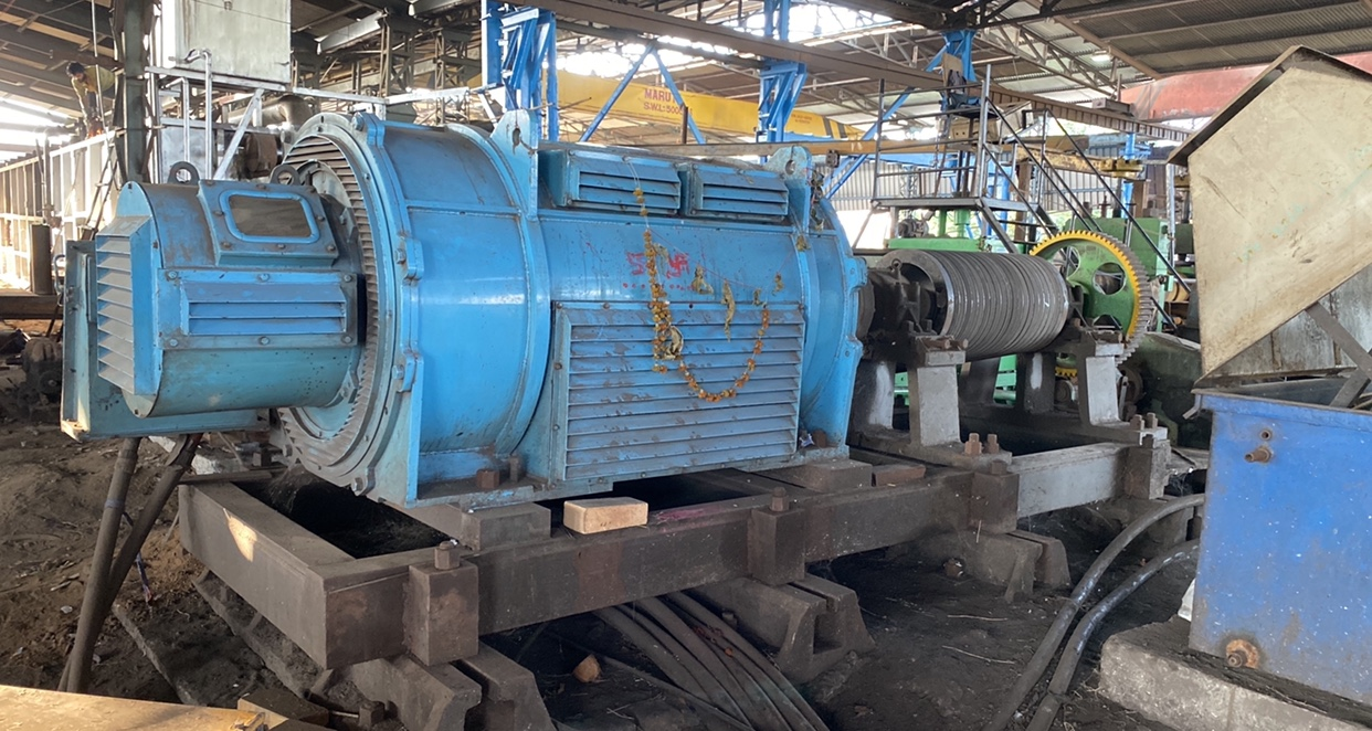 Well established unit with different kind steel product manufacturing capability for sale