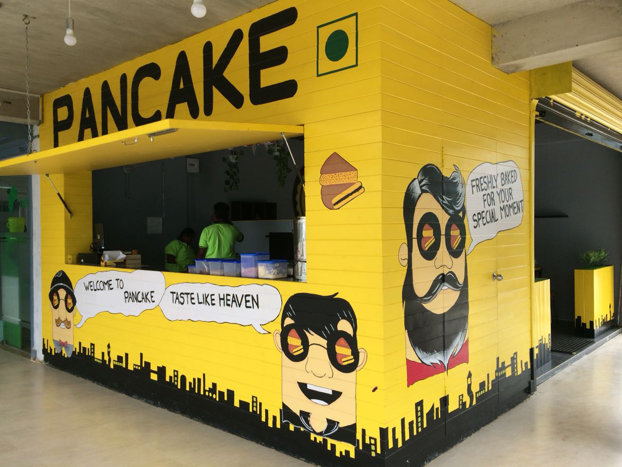 New Concept First Indonesian Style Pancake Shop for Sale in Chennai