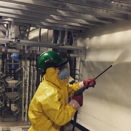 Company into Industrial Premise Maintenance & Cleaning with Top Clients