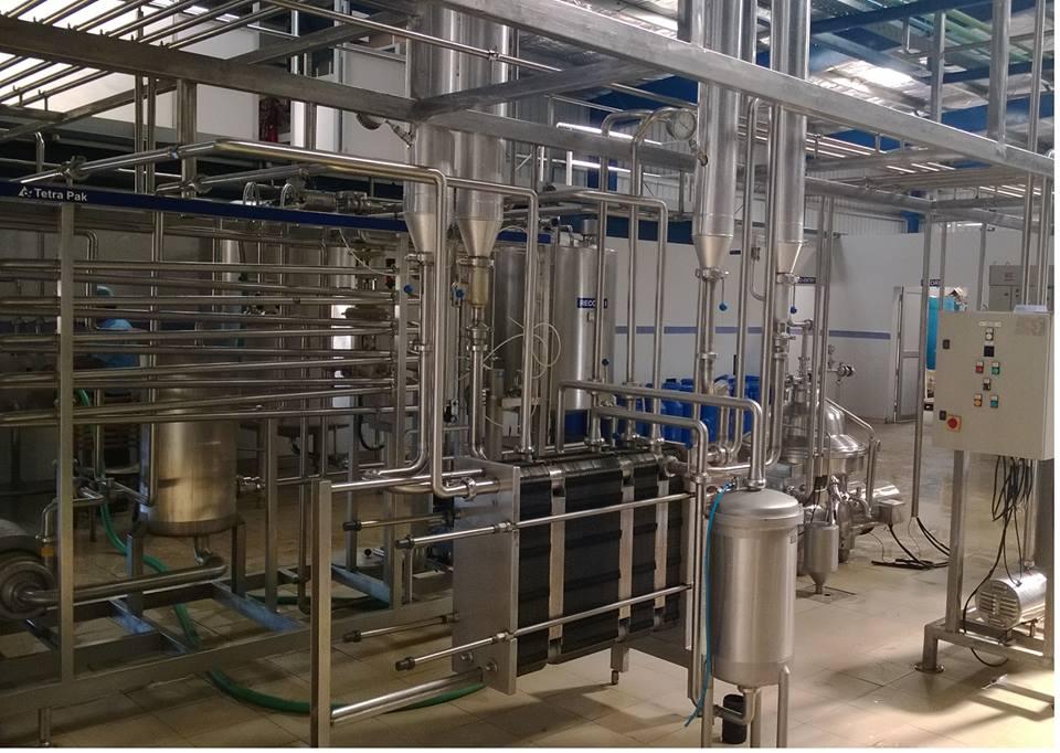 Milk Processing plant for sale in Agartala, Tripura