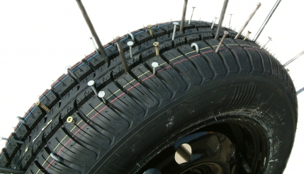 Protect Your Tyres from Punctures Install Puncture Lock Liquid in Tyres (Contact for Dealership) Across India