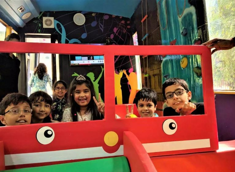 First of Its Kind Kids Play Area Bus for Sale in New Delhi