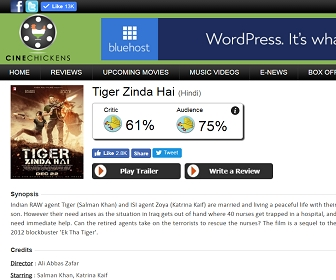 India's No.1 Movie Review Aggregation Website for Sale in Mumbai