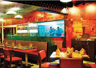 North Indian & Mughlai Restaurant in a popular Mall on MG Road, Gurgaon