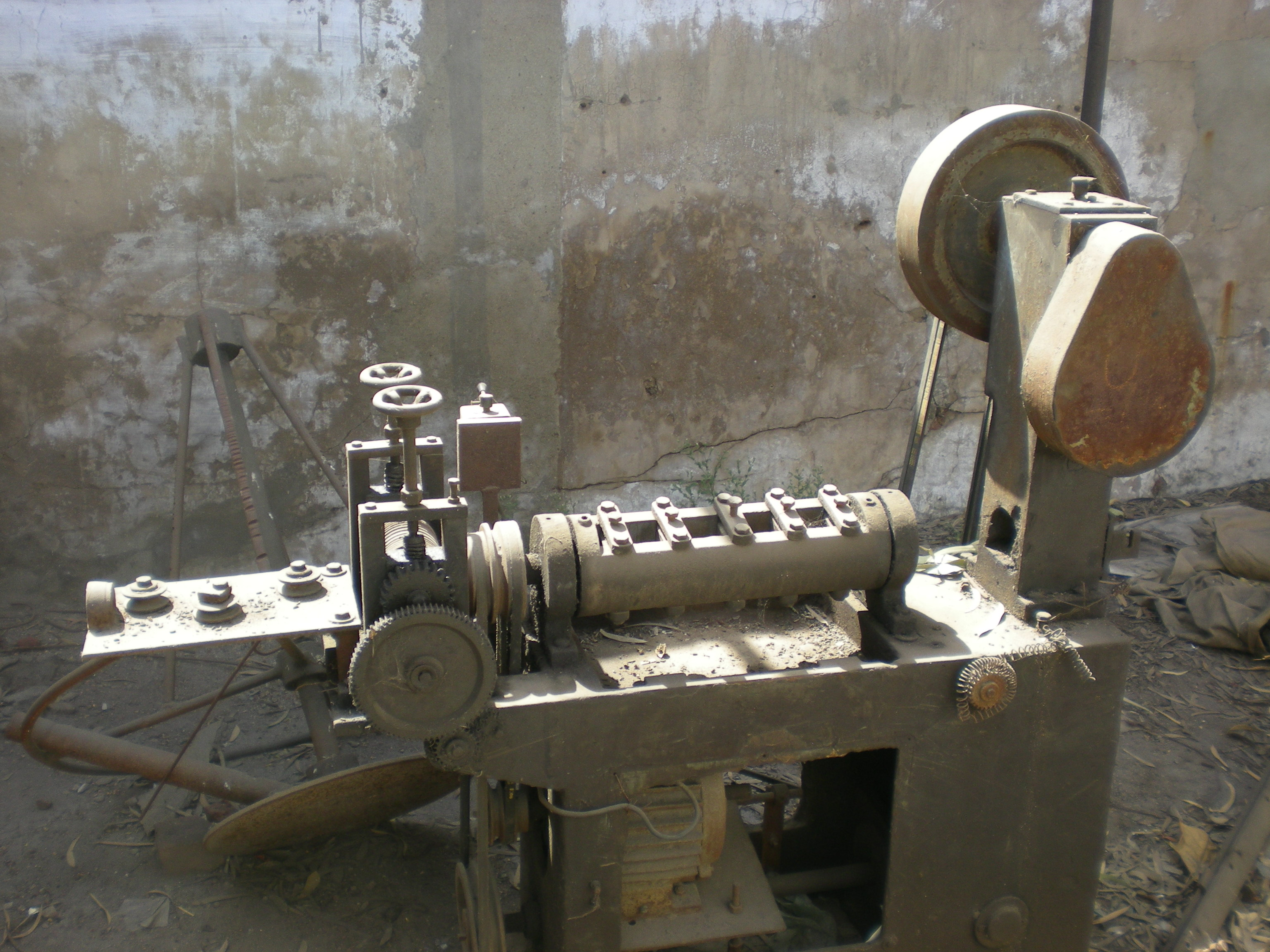 A wire products manufacturing company for sale : All machineries, 250+ dealers and goodwill (brand)