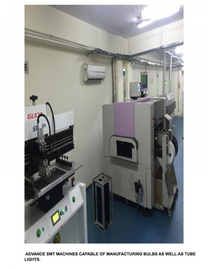Electrical Components and Led Lights Manufacturing Unit for Sale in Delhi
