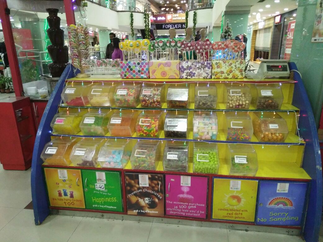 Running Candy Kiosk for Sale in Gurda Mall, Bangalore