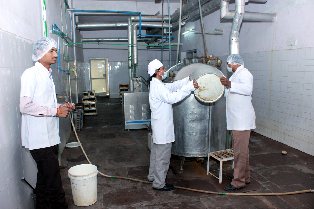 Running Ice-Cream Manufacturing Unit for Sale in Kota, Rajasthan