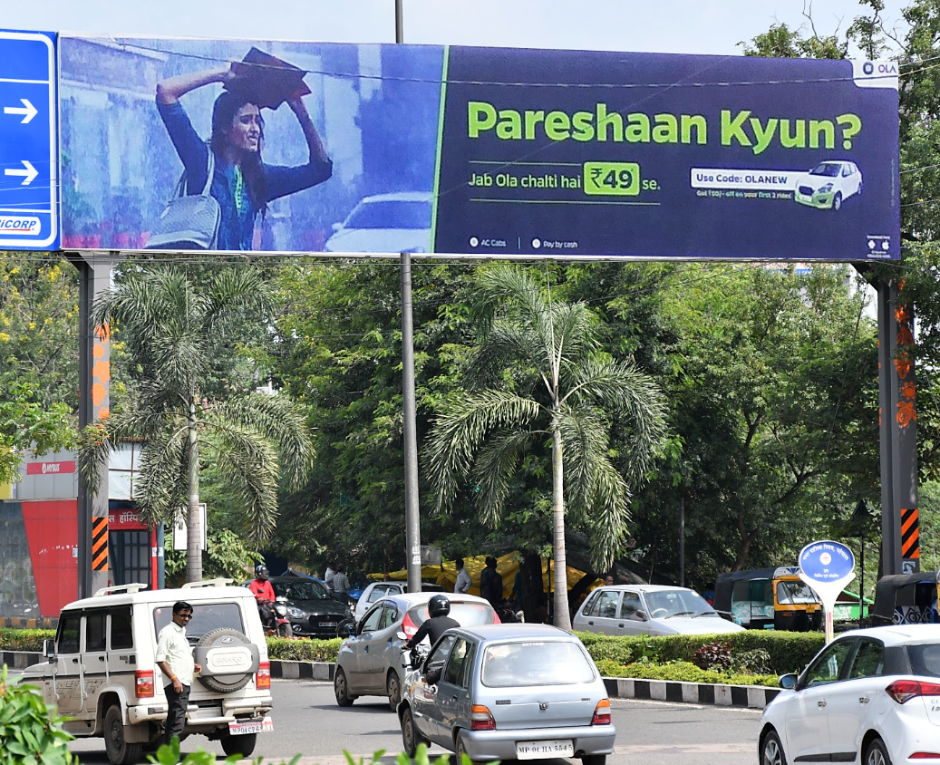 Extremely Profitable 100000 Sq Ft Outdoor Advertising Prime Spaces in Indore and Bhopal for Sale