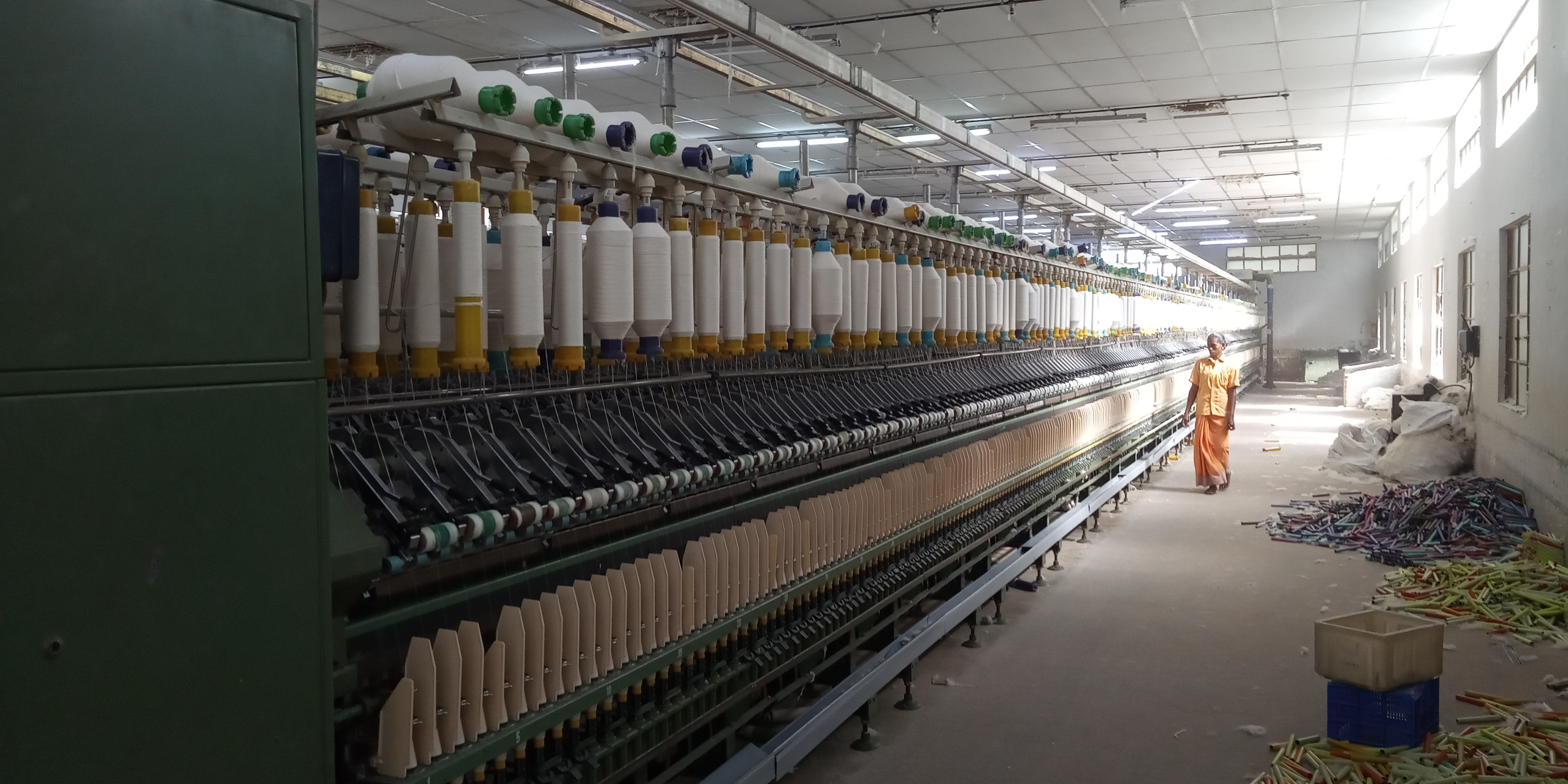 Spinning Mill For Sale With 8000 Spindlage
