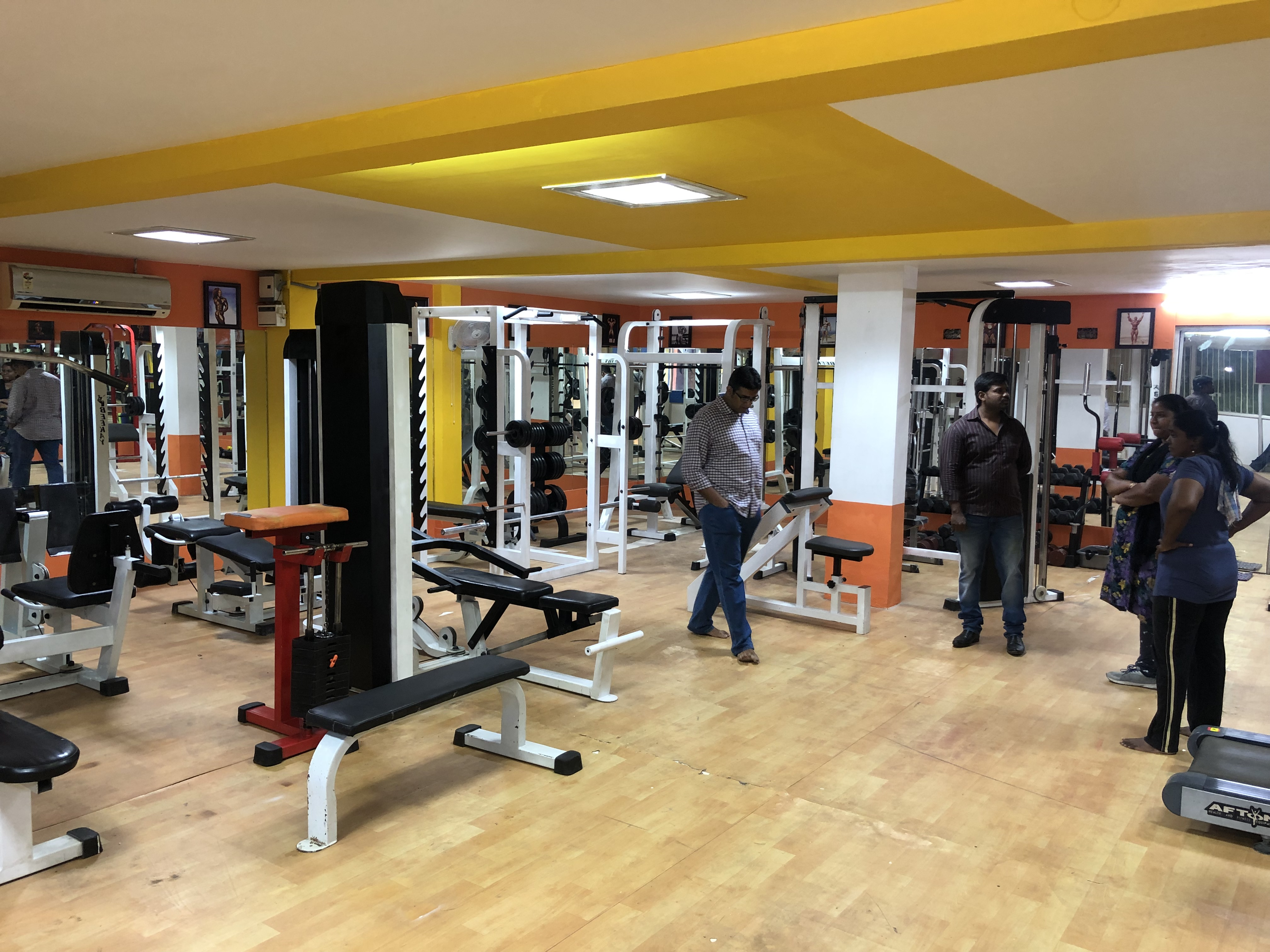 Branded Unisex Fitness Centre for Sale in Madurai