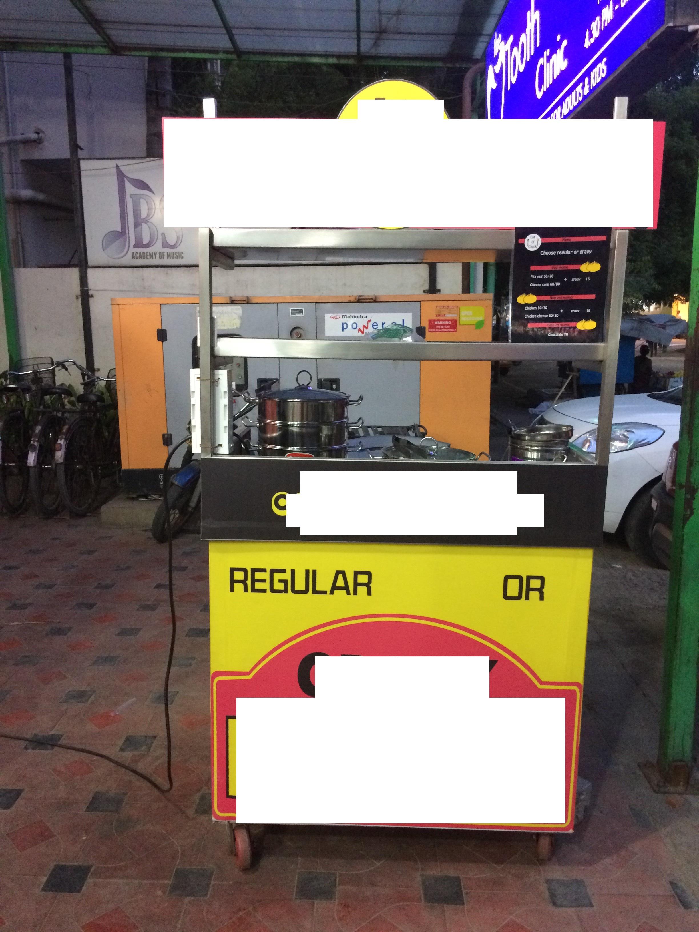 A Momo Fast Food Stall for Sale in Annanagar Chennai
