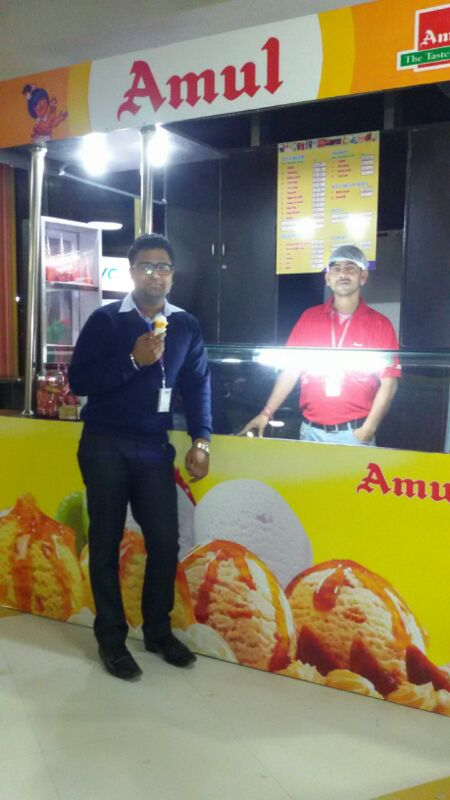 Set up of Amul Ice cream Parlour for Sale at NIIT Tech, Delhi