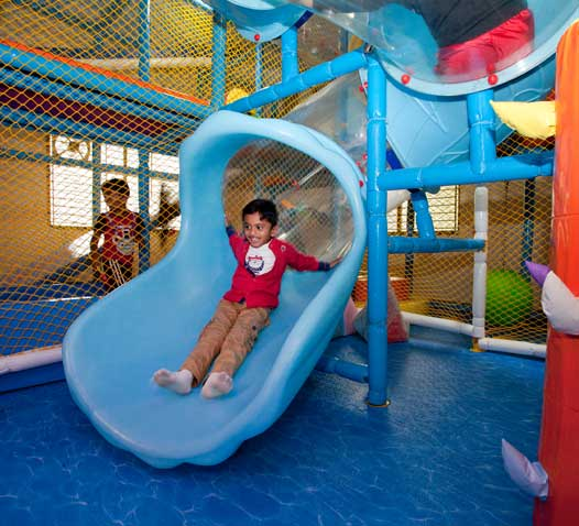 A well established kids indoor soft play area located in prime area of South Bangalore up for sale