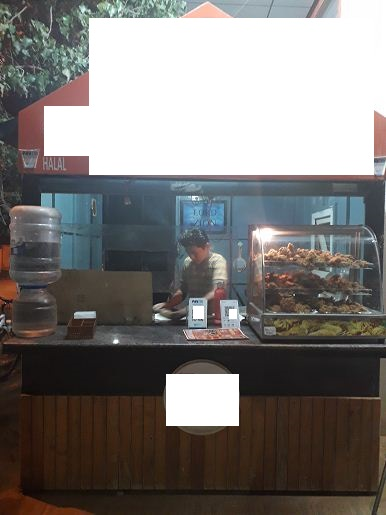 Running Food Outlet Kiosk for Sale in Bangalore