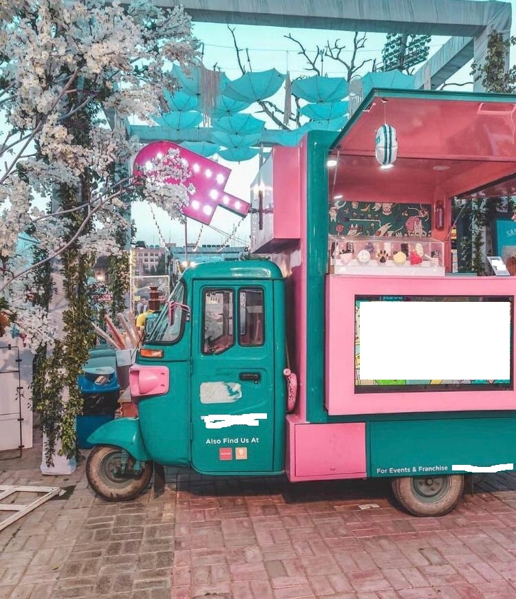 Mobile Ice Cream and Frozen Desserts Van for Sale in Gurgaon