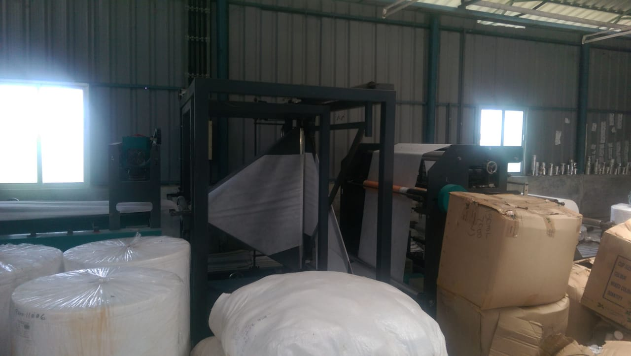 Profitably Running Non Woven Carry Bags Unit Seeking Investment/full Sale