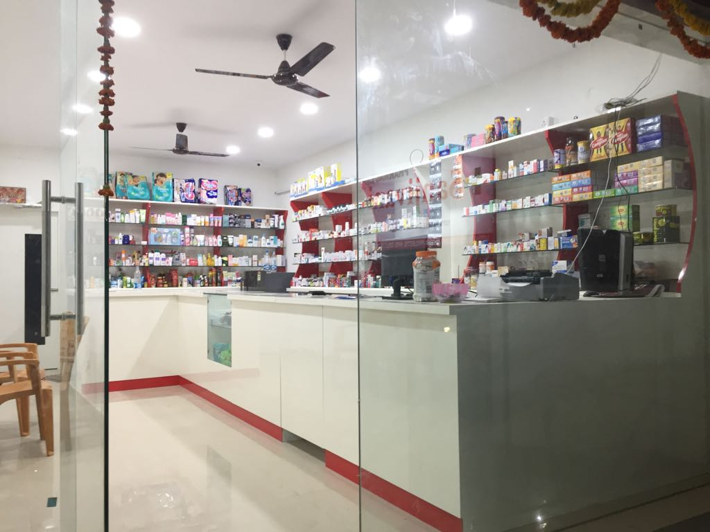 Profitable Pharmacy with Attached Op Clinic & Laboratory for Sale in Hyderabad