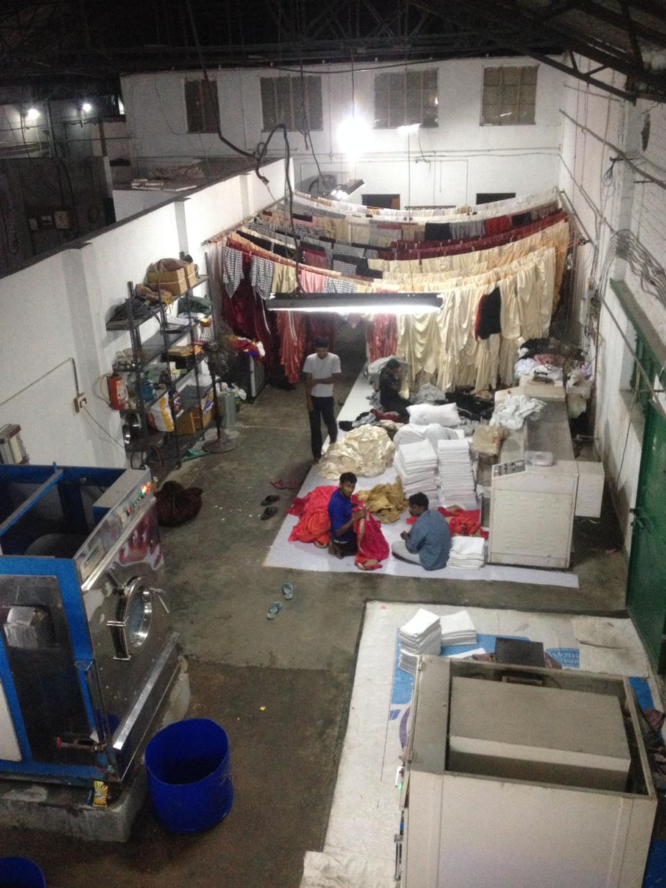 Reputed & Profitable Commercial Laundry Unit for Sale in Kolkata.