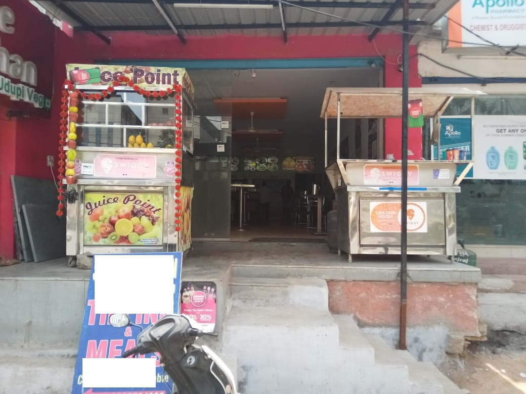 Highly Successful and Profitable Pure Veg Udipi Restaurant for Sale in Hyderabad