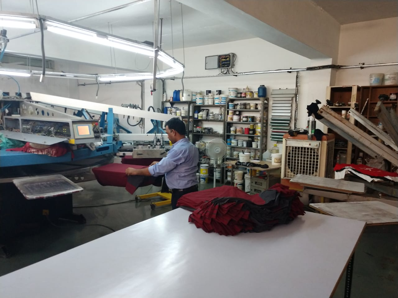 Successful Apparel Decoration and Garment Printing Business for Sale in Mohali
