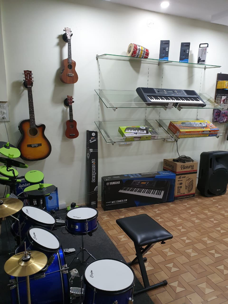 Running Musical Instruments Retail Store for Sale in Bangalore