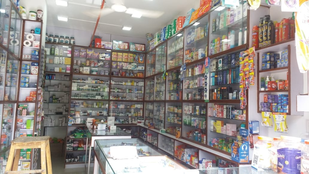 Running Medical Store Available for Sale with Shop in Developing Residential Area of Chandkheda Ahmedabad