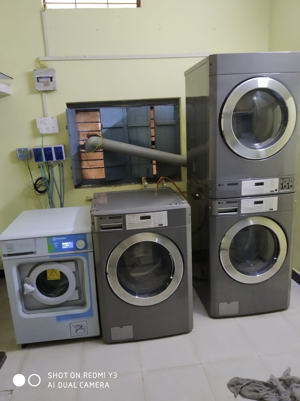 Running Laundry and Drycleaning Business for sale in Hoshangabad