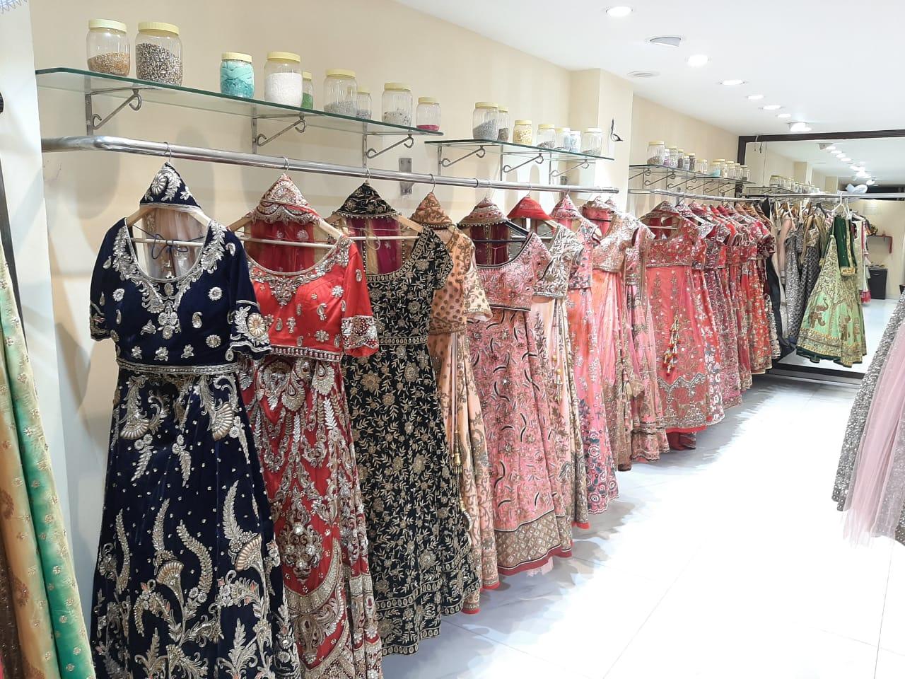 Profitable Designer Showroom in ShahpurJat for Sale with 200 Ethnic Garments