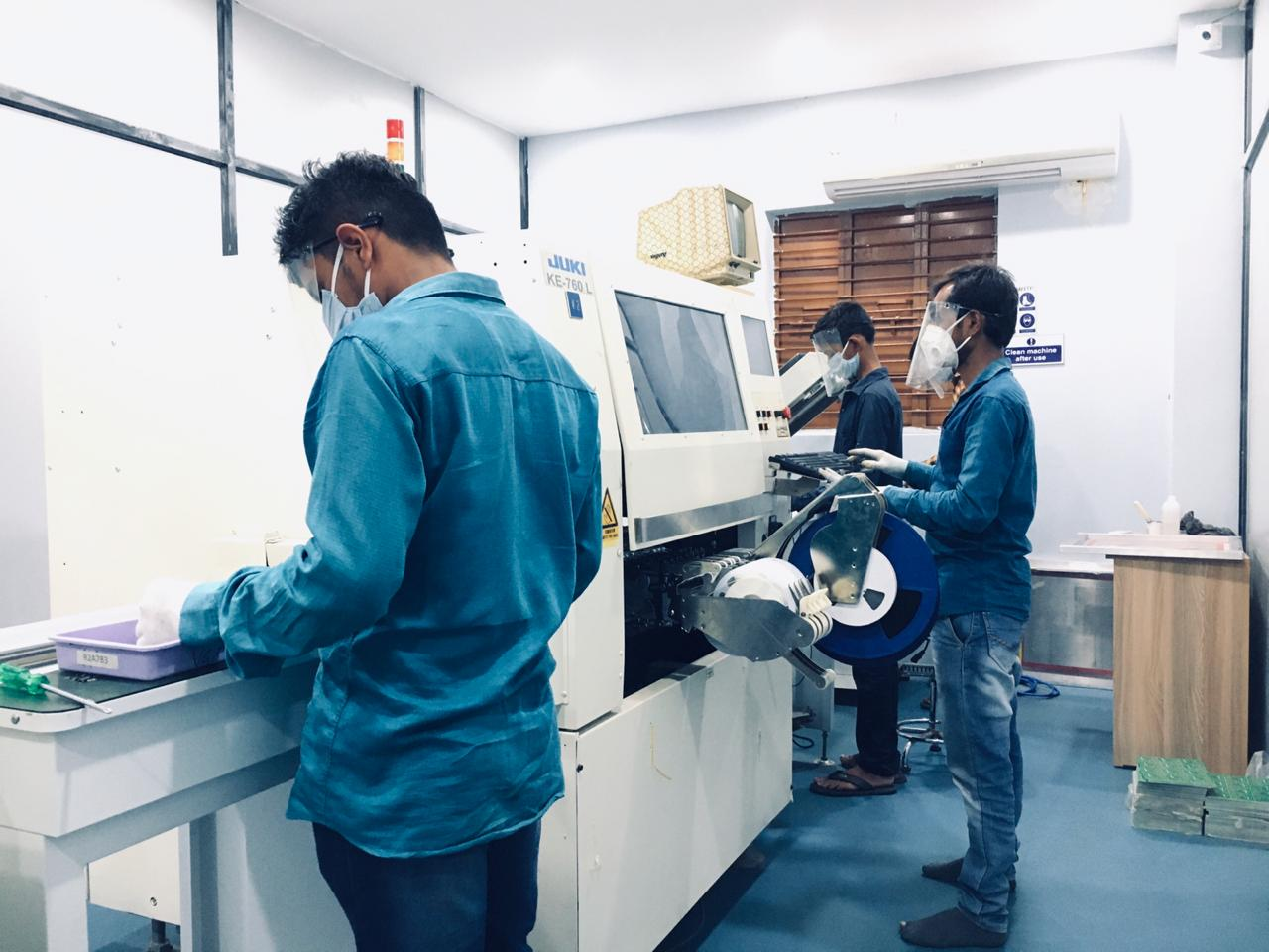 Electronics Manufacturing Startup with well established 7600 Sq ft Mfg Plant looking for fund raising