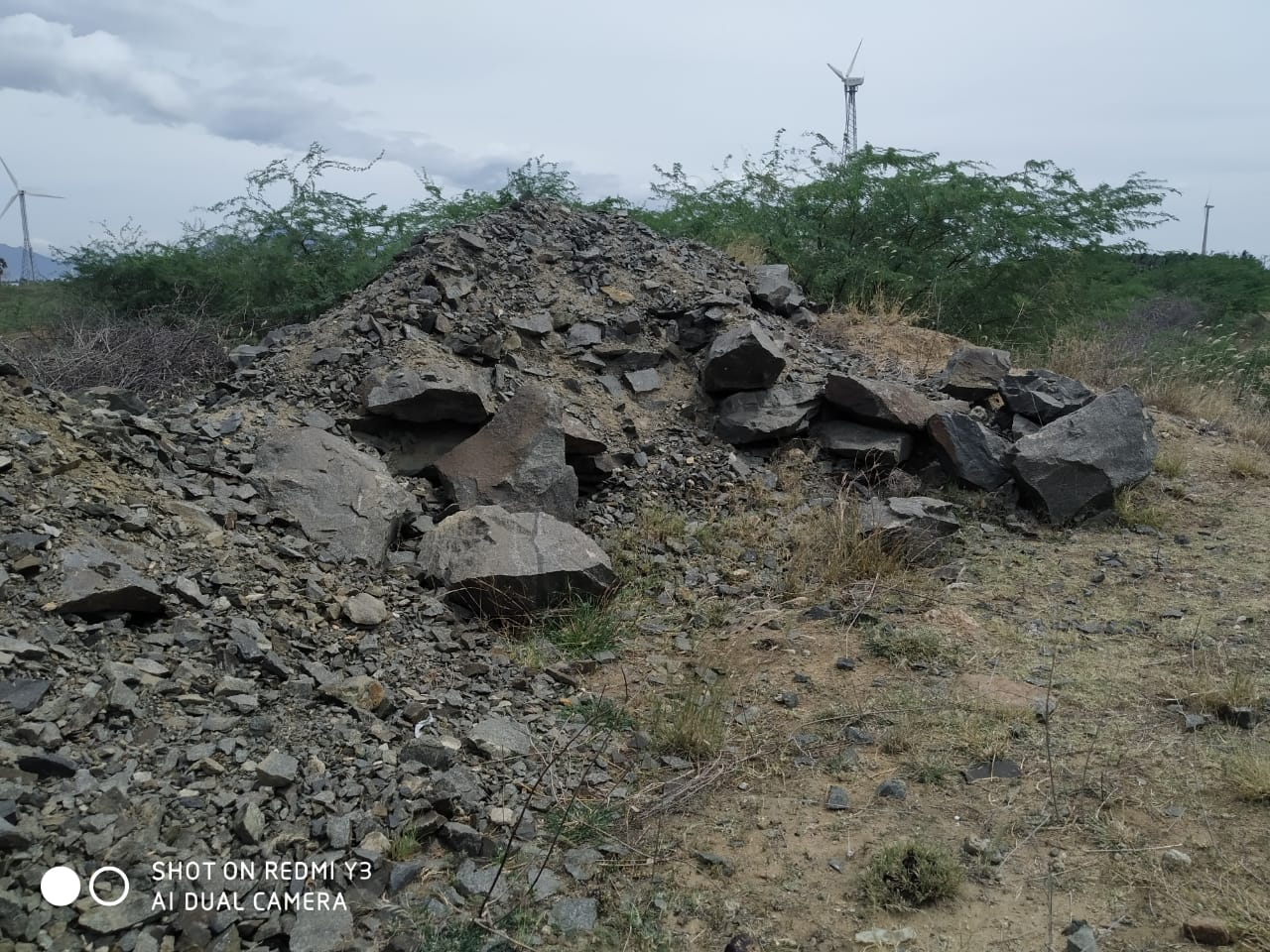 65 acres of land can be used for extraction of blue metals for sale near anjugramam,  kanniyakumari